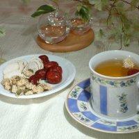 頭痛保健茶飲-白芷菊花茶