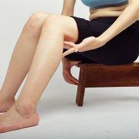 腰痠背痛針灸穴道-按摩DIY-委中